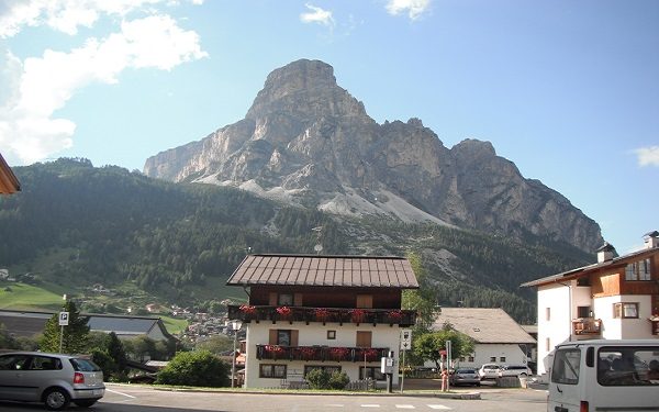 Italy house in Dolomites